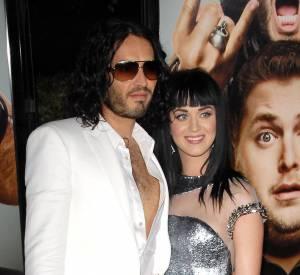 Russell Brand et Katy Perry formaient un couple au look déjanté.