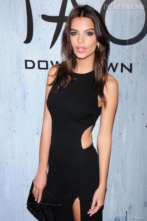 """Emily Ratajkowski a décroché son premier """"grand"""" rôle au cinéma dans le film """"Gone Girl"""" de David Fincher."""