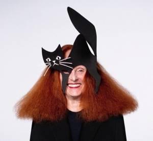 Grace Coddington, premiere victime des masques Halloween de Vogue