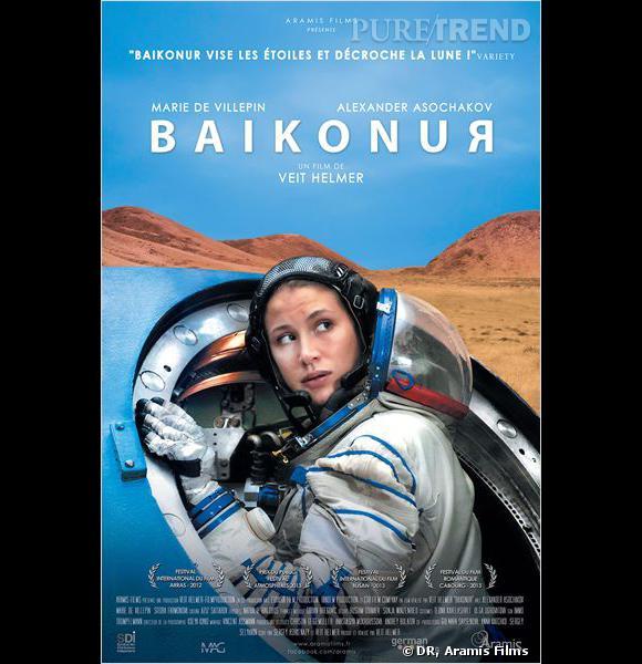 """Marie de Villepin est actuellement à l'affiche de """"Baikonur"""" de Veit Helmer."""
