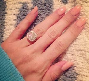 La bague en diamants d'Ashley Tisdale.