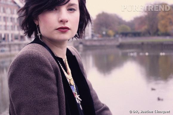 Justine Clenquet créatrice de bijoux.