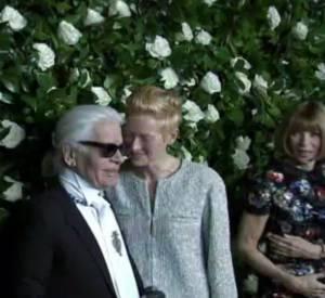Tilda Swinton honorée au MoMa pour son 53ème anniversaire.
