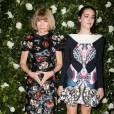 Anna Wintour et sa fille Bee Shaffer à la soirée donnée en l'honneur de Tilda Swinton au MoMa de New York.