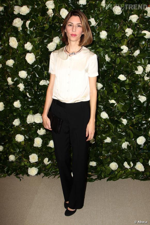 Sofia Coppola à la soirée donnée en l'honneur de Tilda Swinton au MoMa de New York.