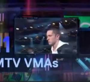 Eminem sur scène aux MTV EMAs 2013.