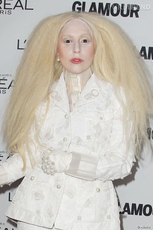 Lady Gaga, toujours aussi inquiétante.