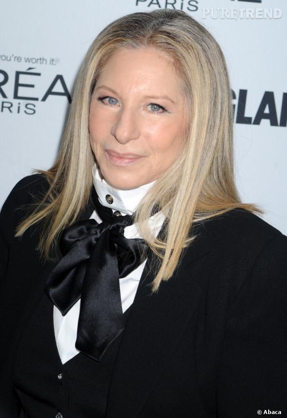 Barbara Streisand, pas vraiment mise en valeur par son lissage.