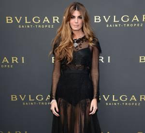 Bianca Brandolini d'Adda, l'une des favorite de la maison Dolce & Gabbana mais bien évidemment à l'honneur la tendance de façon ultra-romantique.