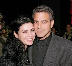"""Julianna Margulies et George Clooney sont sortis ensemble pendant le tournage de la série """"Urgences"""" et sont restés de très bons amis depuis... D'ailleurs, Julianna Margulies avoue qu'elle demande souvent conseil à George Clooney !"""