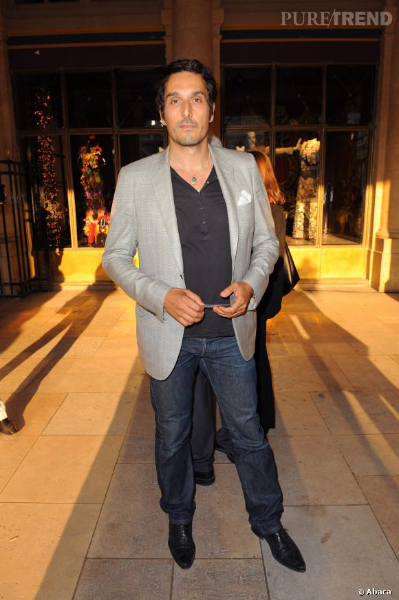 Vincent Elbaz en 2009, élégance décontractée pour l'acteur qui a tout bon.