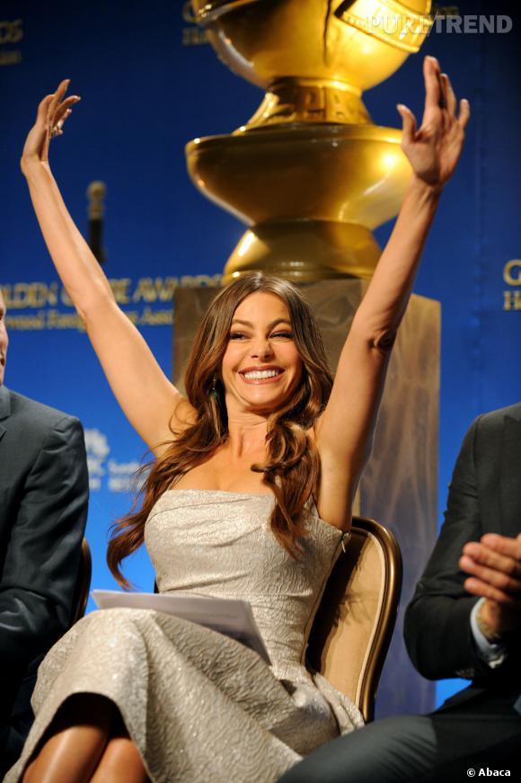Sofia Vergara, actrice la mieux payée de l'année, devant Ashton Kutcher.