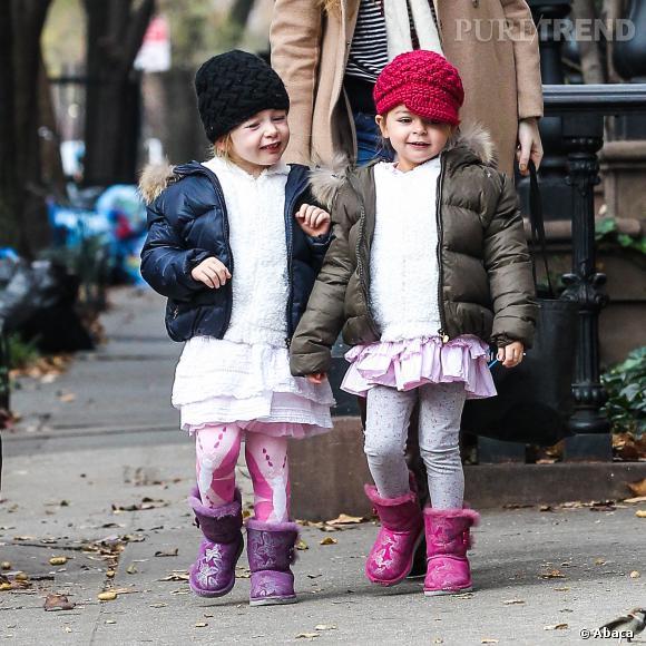 Tabitha et Marion, des mini-fashionistas en doudounes !