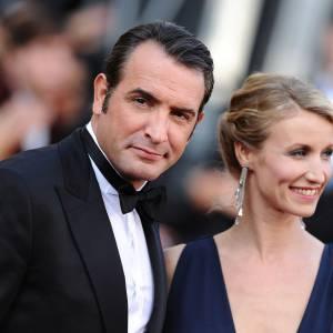 Jean Dujardin et son ex-compagne Alexandra Lamy.