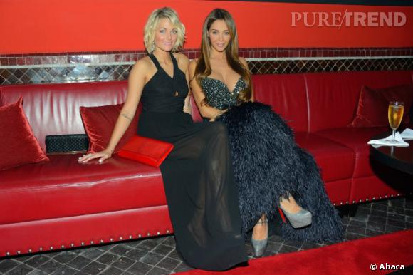 Caroline Receveur et Nabilla, les deux nouvelles meilleures copines.