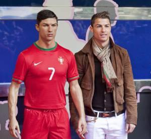 Cristiano Ronaldo : muscles et stéroïds, sa statut de cire est un vrai carnage !