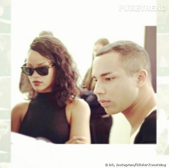 """Rihanna pour Balmain, un """"rêve devenu réalité"""" pour Olivier Rousteing."""