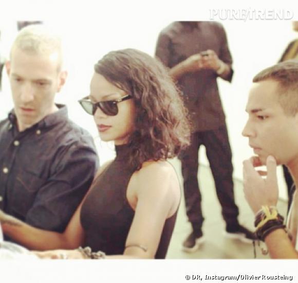 Rihanna et Olivier Rousteing.