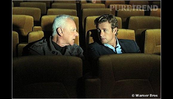"""""""Mentalist"""" : Bret Stiles (à gauche) est-il John Le Rouge ?"""
