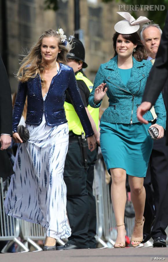 Cressida Bonas et Princesse Eugenie, deux amies de toujours.