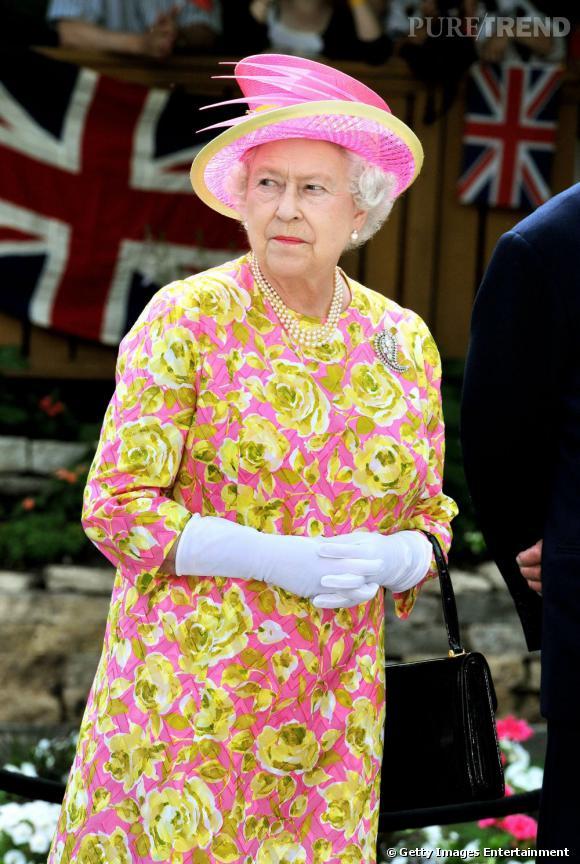 Queen Elizabeth II peut être très mauvaise...