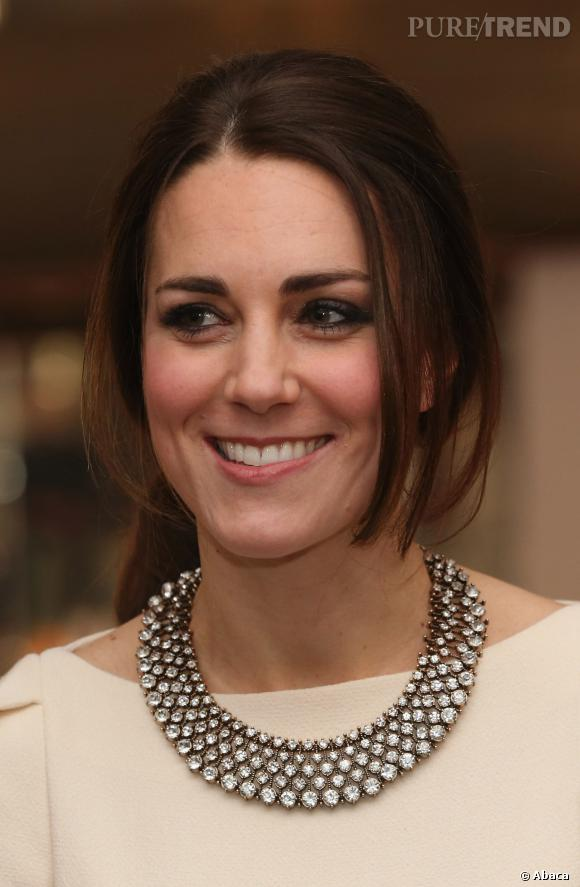 Kate Middleton, adepte du masque à la piqûre d'abeille.