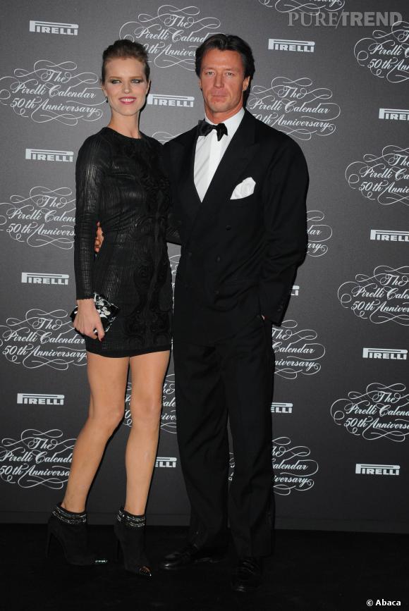 Eva Herzigova et son mari, Gregorio Marsiaj.