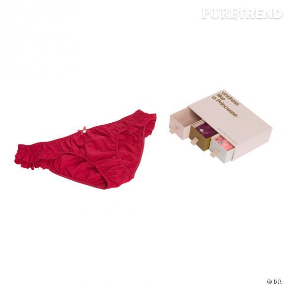 Box de 3 culottes Princesse Tam Tam, 27,30€ au lieu de 39€.