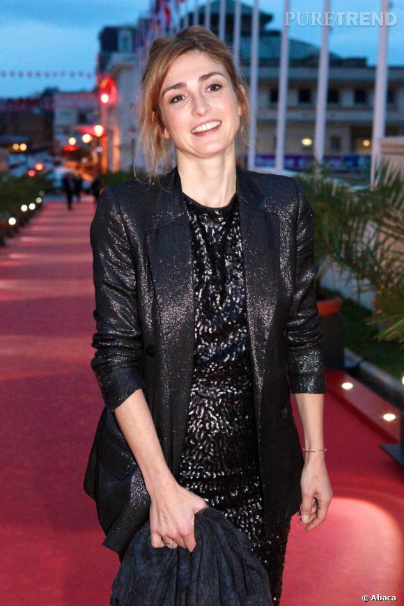 Julie Gayet au Festival du film britannique de Dinard en 2012.