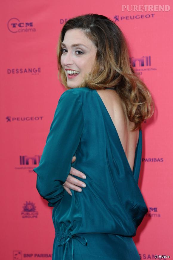 """Julie Gayet à l'avant-première de """"Struck"""" en juin 2013."""