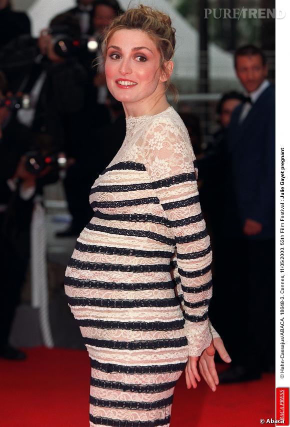 Julie Gayet au Festival de Cannes en 2000.