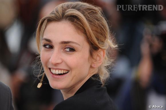 Julie Gayet, beauté naturelle au Festival de Cannes en 2009.