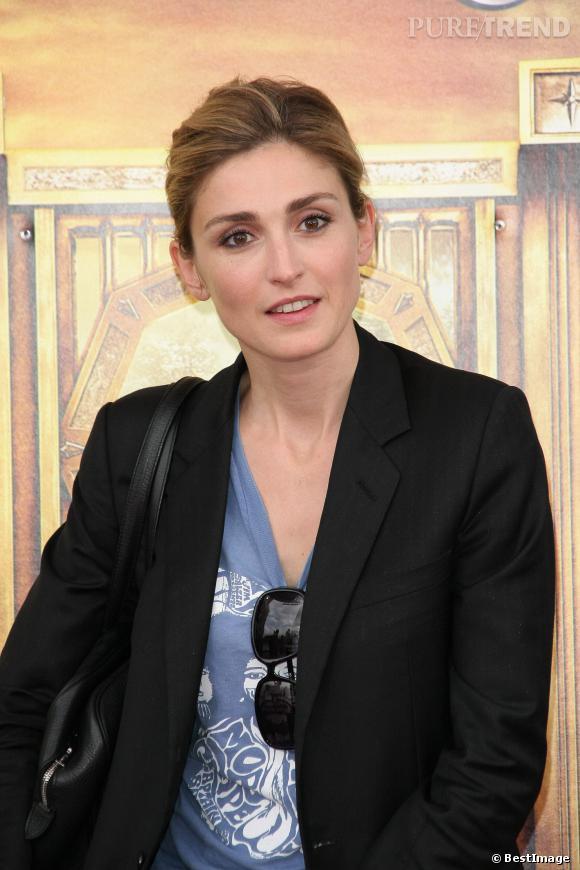 """Julie Gayet à l'avant-première de """"Narnia 2"""" en 2008."""
