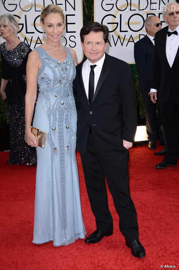 Michael J. Fox à la 71ème cérémonie des Golden Globes, édition 2014.