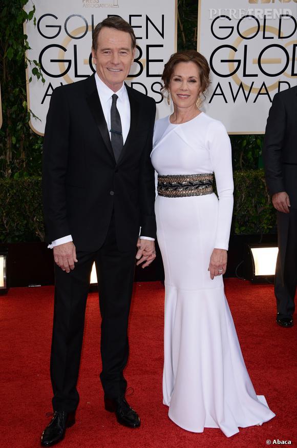 Bryan Cranston à la 71ème cérémonie des Golden Globes, édition 2014.