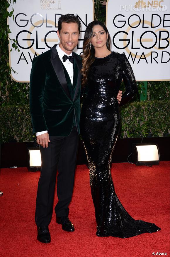 Matthew McConaughey à la 71ème cérémonie des Golden Globes, édition 2014.