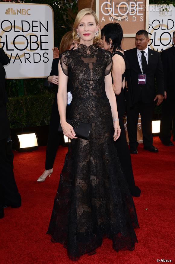 Cate Blanchett à la 71ème cérémonie des Golden Globes, édition 2014.