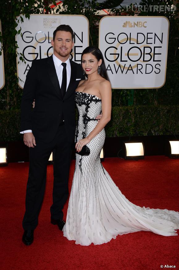 Channing Tatum à la 71ème cérémonie des Golden Globes, édition 2014.