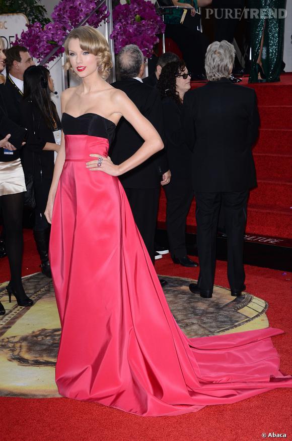 Taylor Swift à la 71ème cérémonie des Golden Globes, édition 2014.