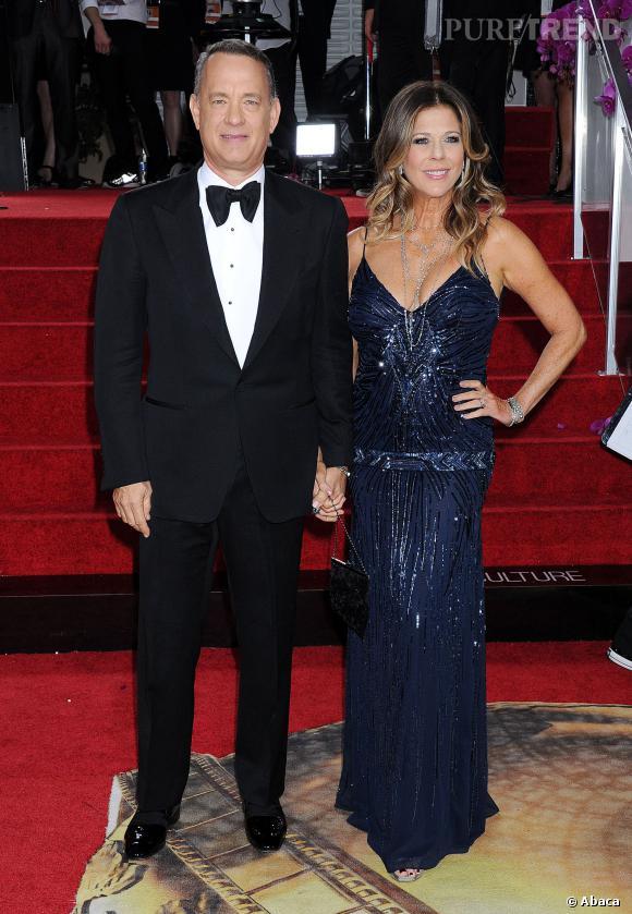 Tom Hanks à la 71ème cérémonie des Golden Globes, édition 2014.