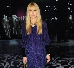 """Rachel Zoe au vernissage de l'exposition """"Journey of a Dress""""."""