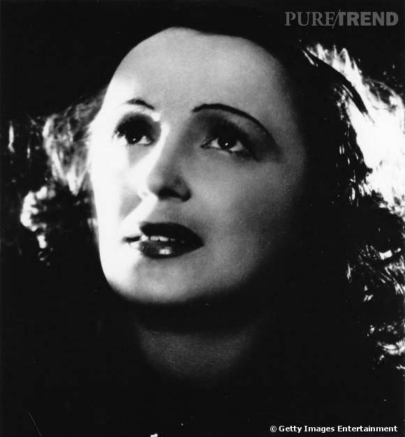"""Edith """"La Môme"""" Piaf en 1940."""