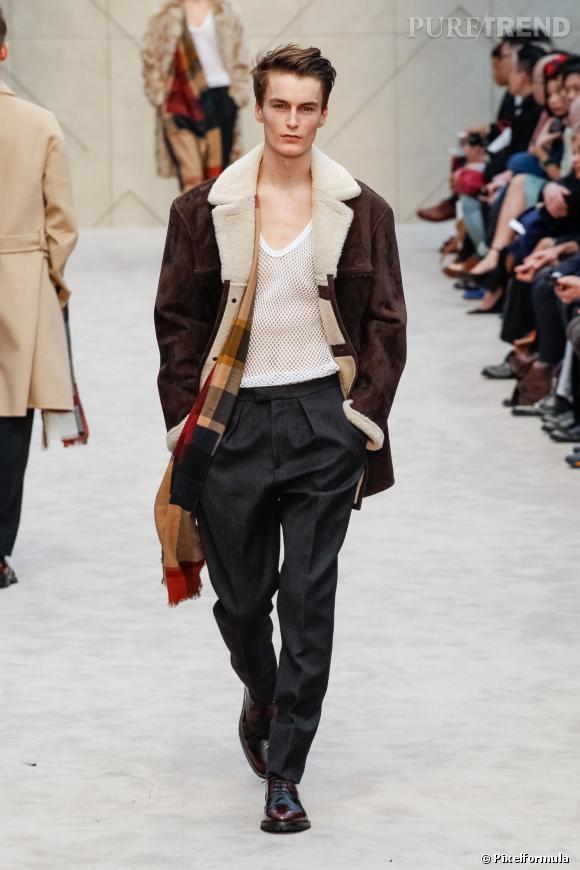 Fashion Week Homme Automne-Hiver 2014 2015   Défilé Burberry Prorsum ... 27c1c091c56