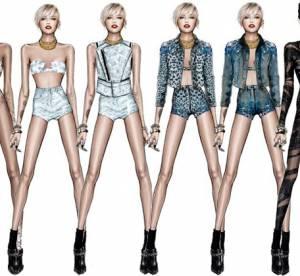 Miley Cyrus (des)habillée par Roberto Cavalli