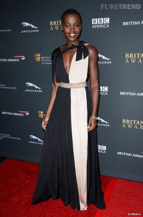 Lupita Nyong'o lors des  BAFTA LA Britannia Awards.