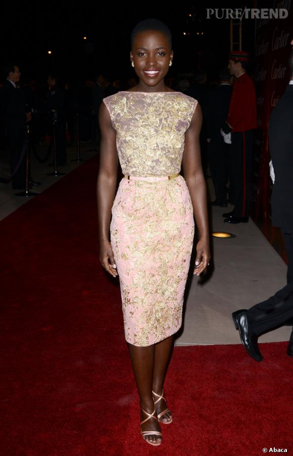 Lupita Nyong'o aux  Palm Springs International Film Festival Awards Gala.