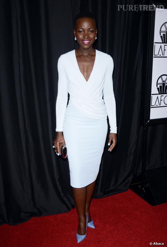 Lupita Nyong'o aux Film Critics Association Awards.
