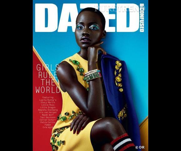 Lupita Nyong'o en Une du magazine Dazed & Confused.