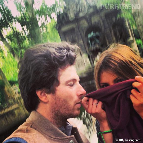 Jean Imbert et Alexandra Rosenfeld lors d'un de leur voyage.