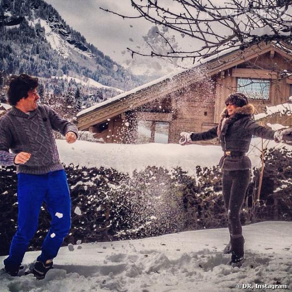 Jean Imbert et Alexandra Rosenfeld ont passé les vacances de Noël ensemble.